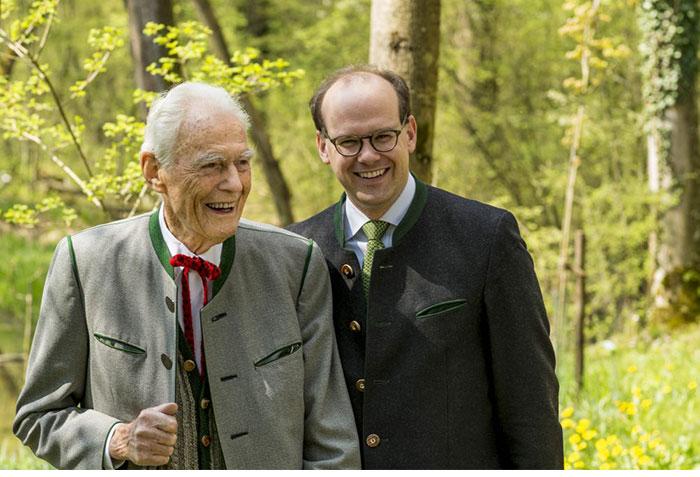 Otto Greither, alongside his fellow director, Dr. Florian Block
